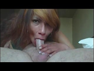 Wife performs anal sex on husband