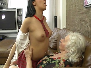 Exaggerate. confirm. Mature granny lesbian ass licking