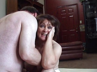 Busty woman brunette mature