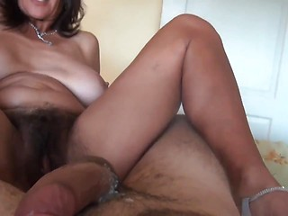 Mom slept as i slid my cock between her feet