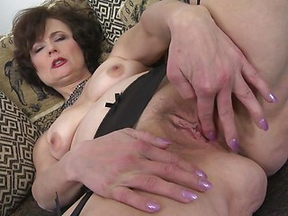 Horny mature anal
