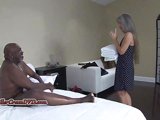 Interracial slut mature moms something also