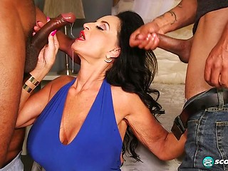 hairy double anal penetration -